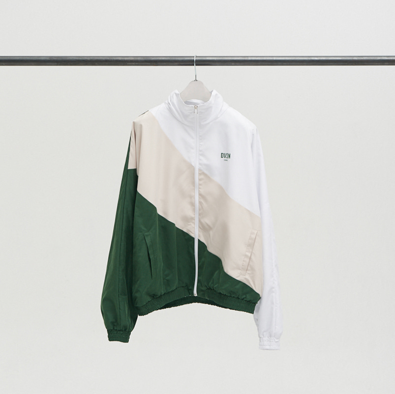 DVSN STUDIOS Windbreaker _ Green