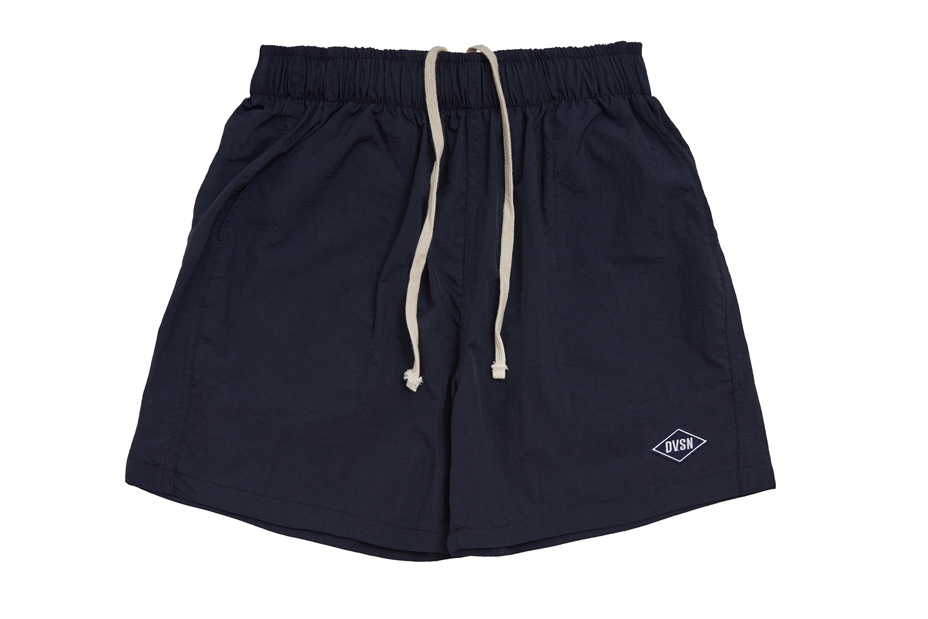 POLY TRACK SHORTS LIGHT_ NAVY