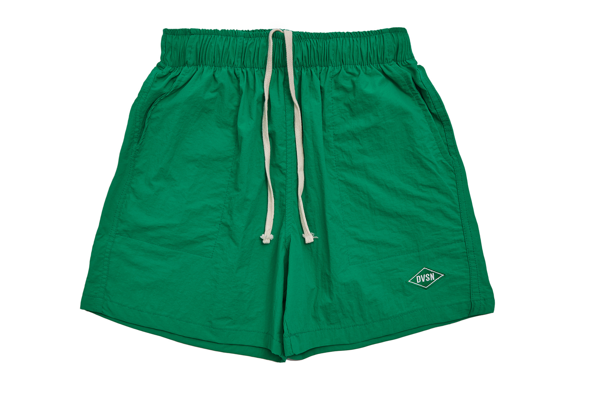 POLY TRACK SHORTS LIGHT_ GREEN