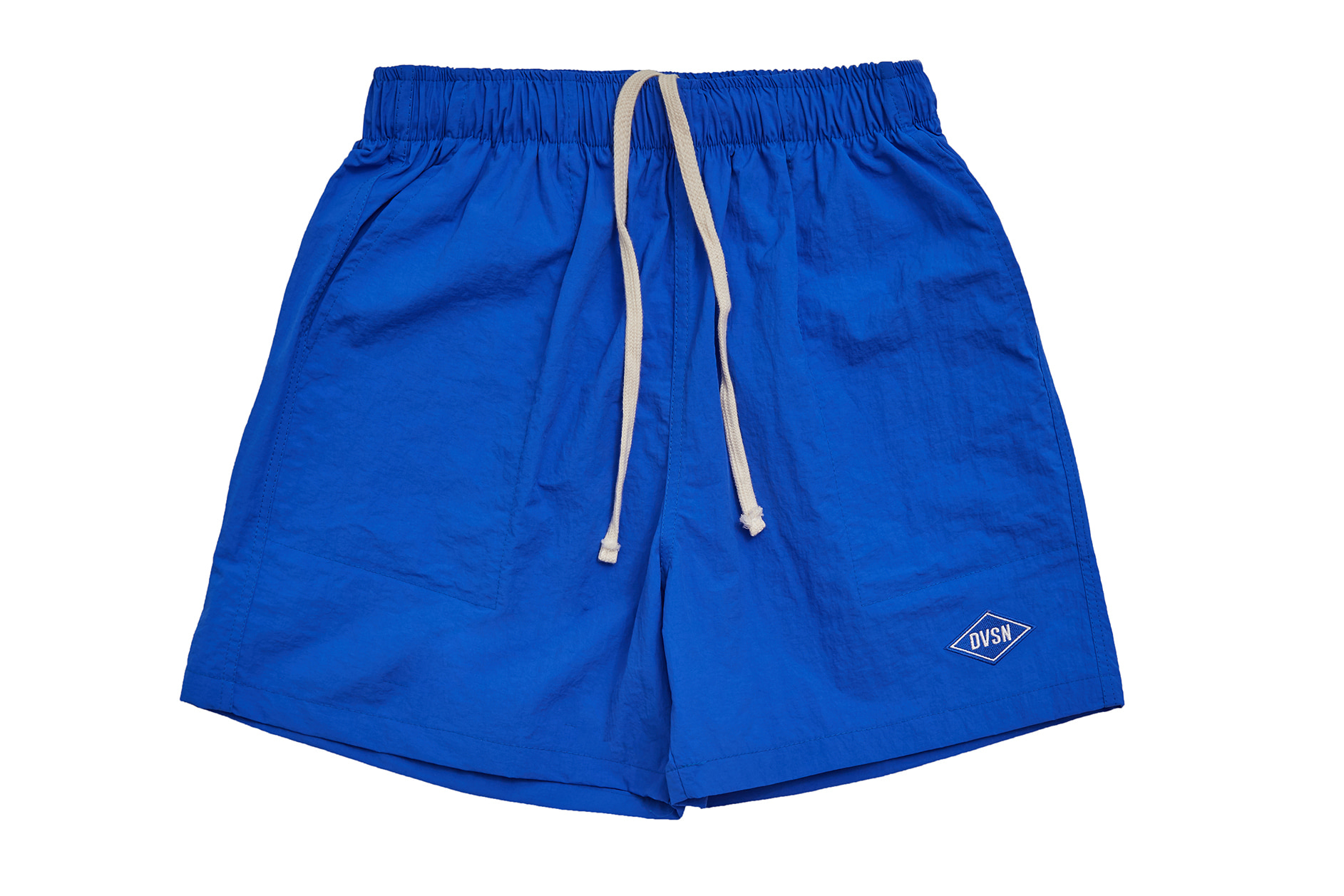 POLY TRACK SHORTS LIGHT_ BLUE