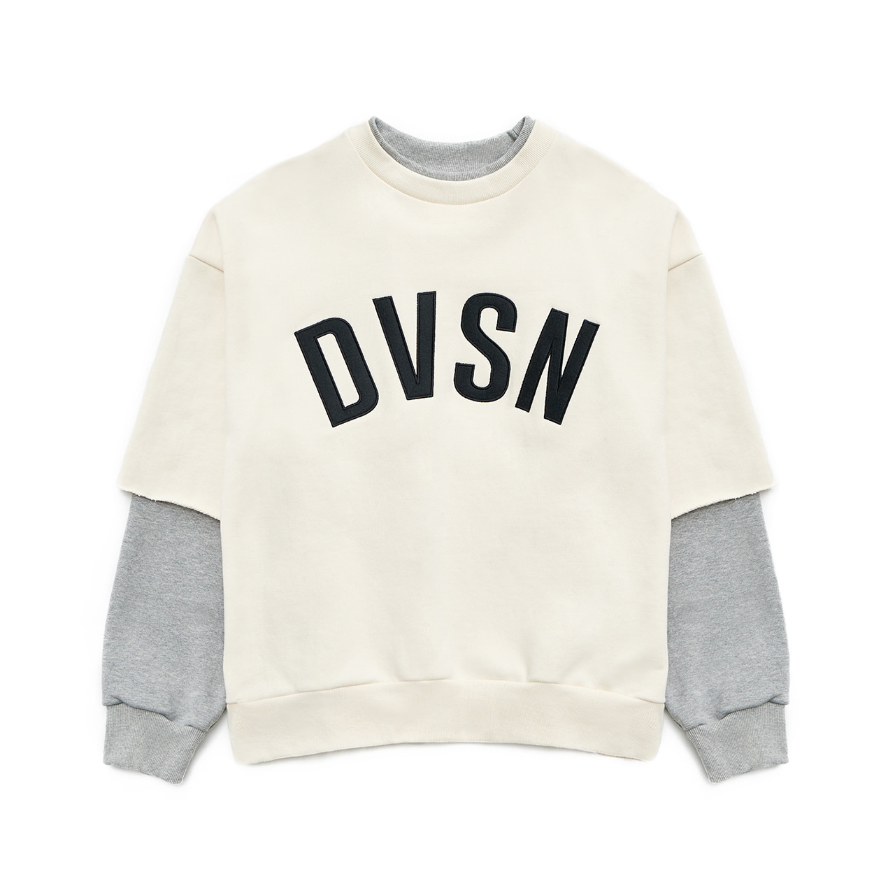 DVSN COMBO SWEATSHIRT _ CREAM