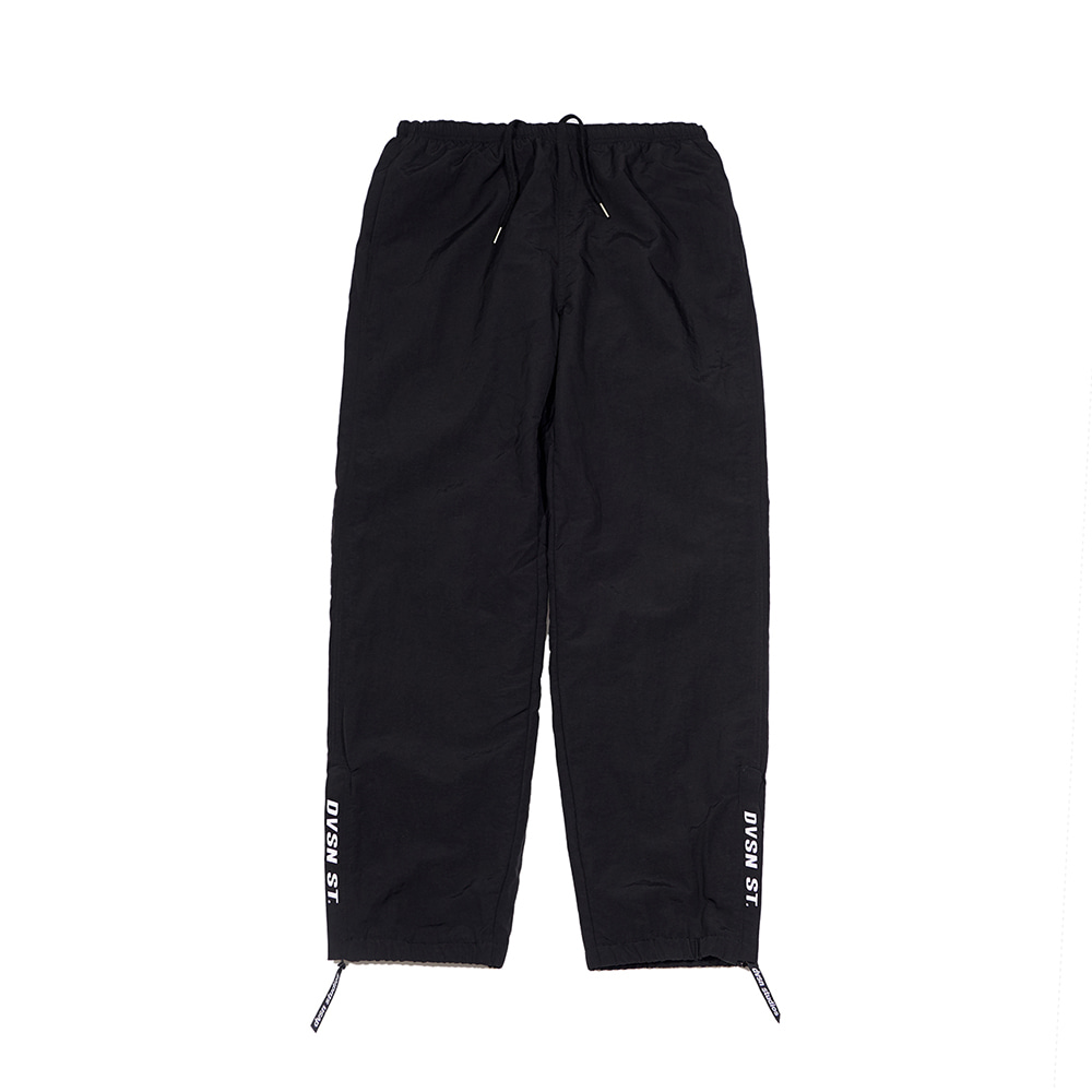 Dvsn side logo warm up pant _ black