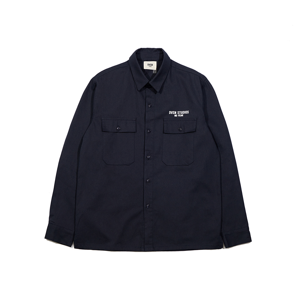 Dvsn classic work shirt _ navy