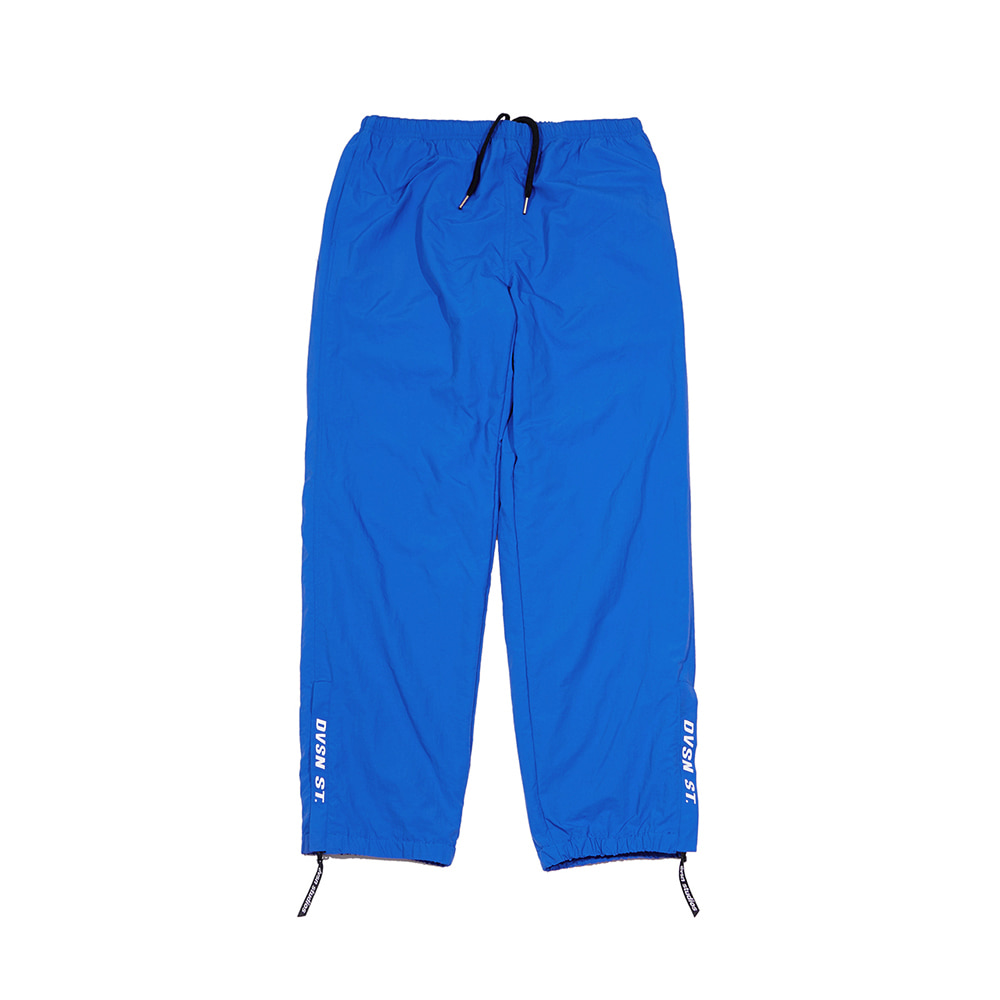 Dvsn side logo warm up pant _ blue