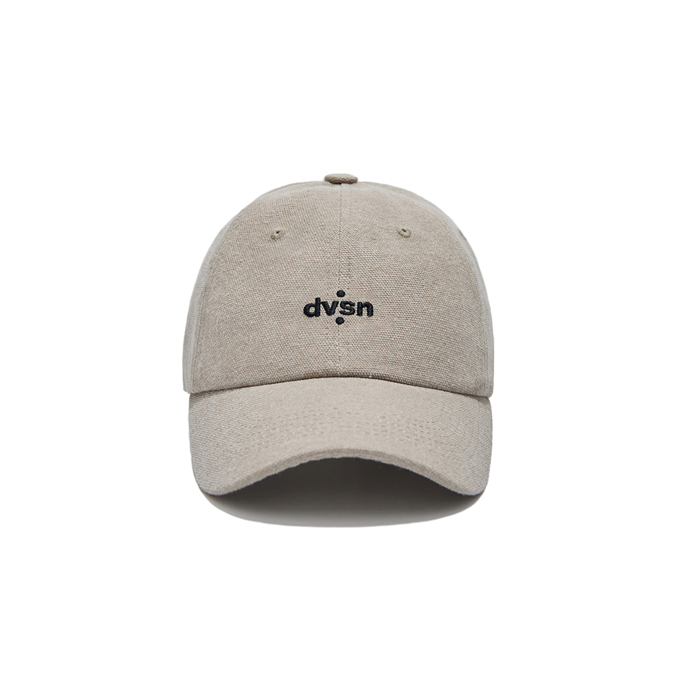 DVSN STUDIOS BASIC SMALL LOGO BALL CAP _ Beige