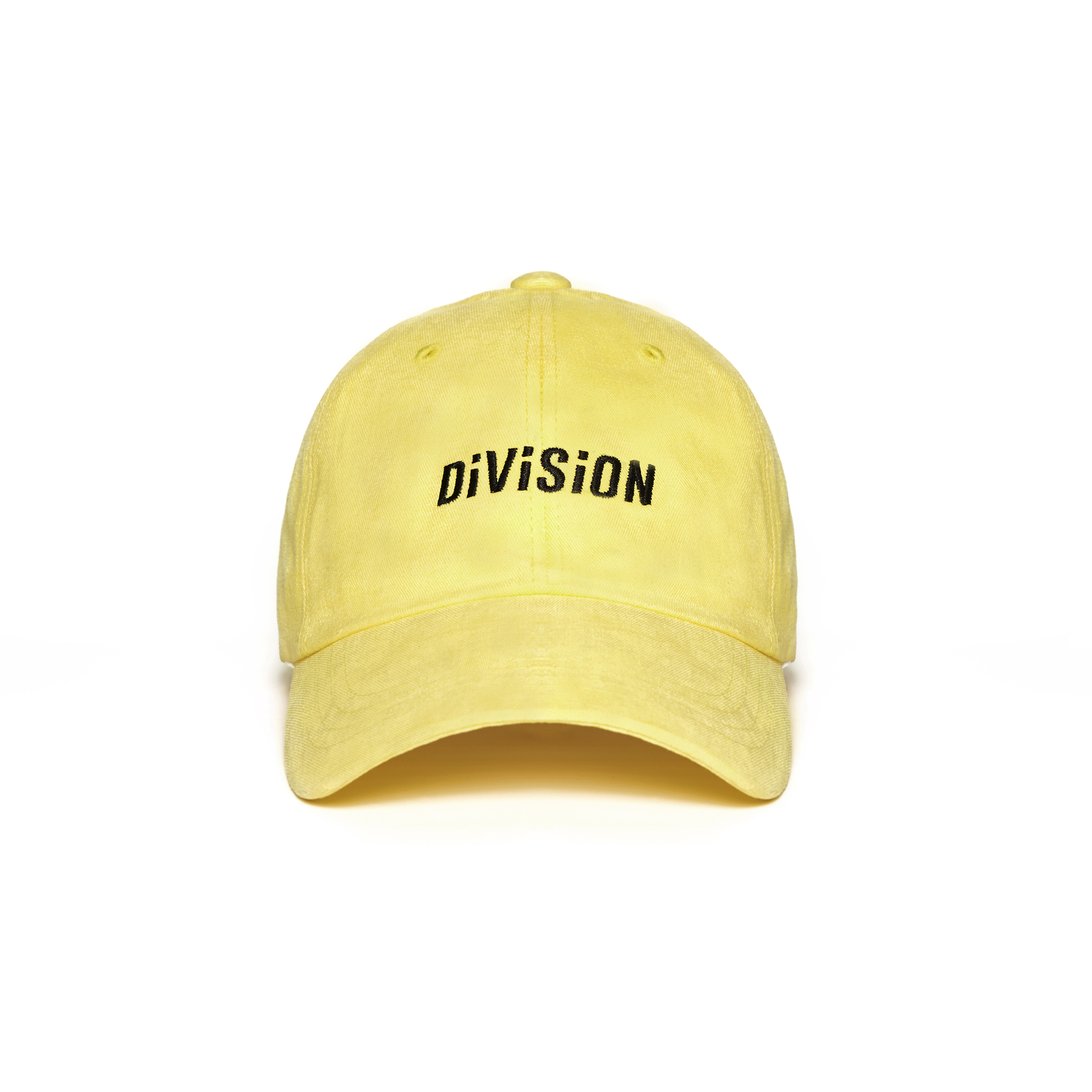 DVSN STUDIOS BASIC BALL CAP DIVISION YELLOW