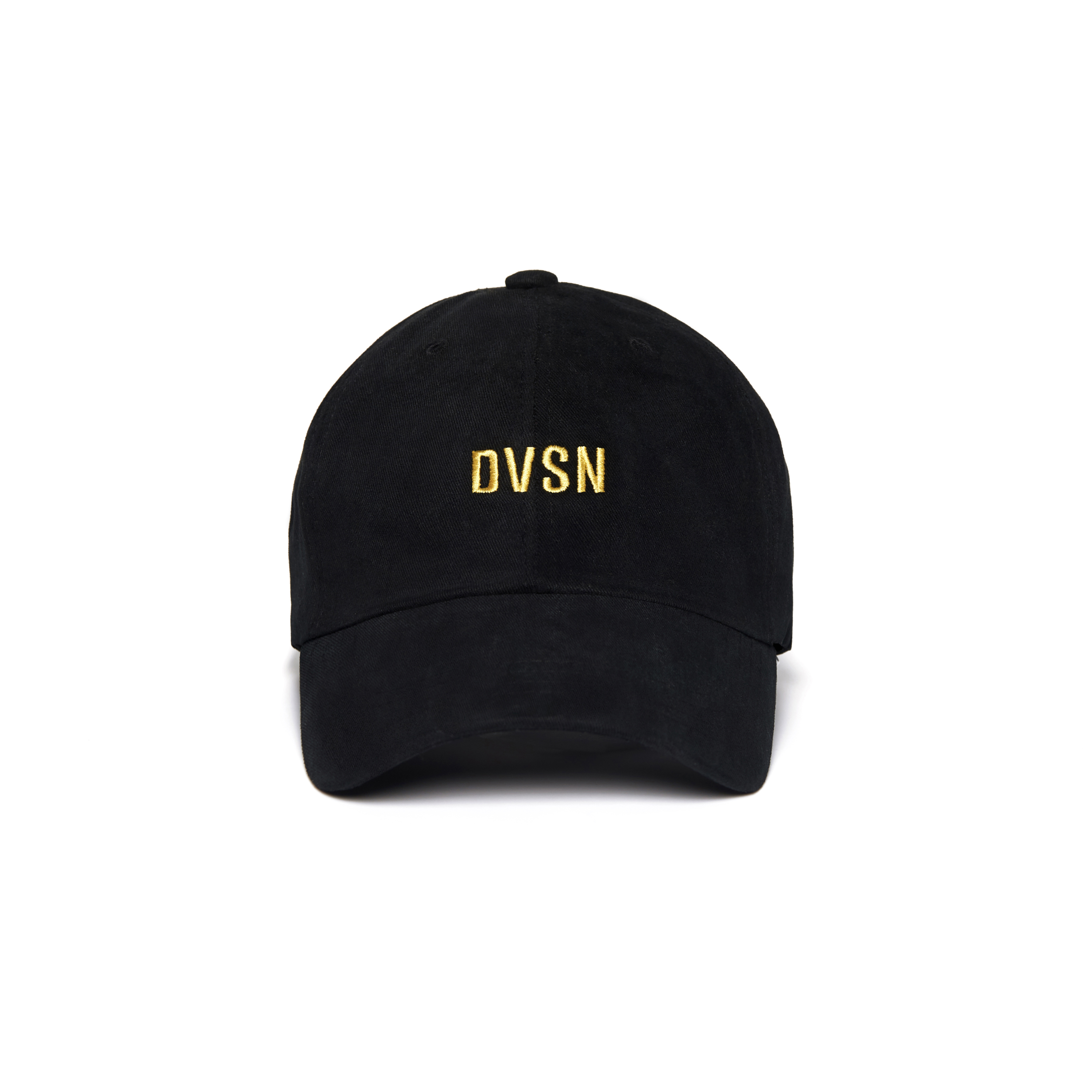 DVSN STUDIOS BASIC BALL CAP BLACK