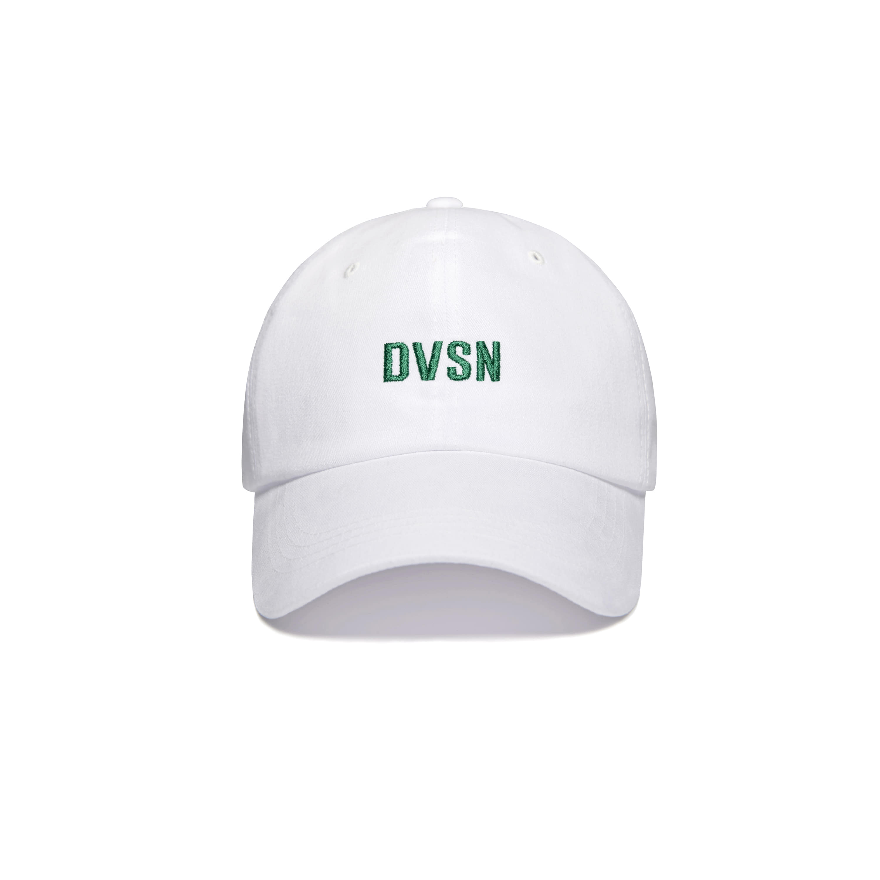 DVSN STUDIOS BASIC BALL CAP WHITE
