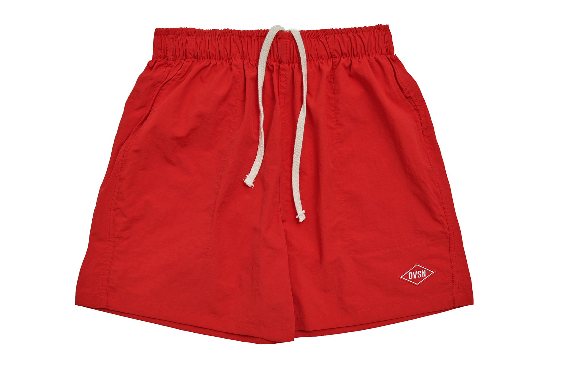 POLY TRACK SHORTS LIGHT_ RED