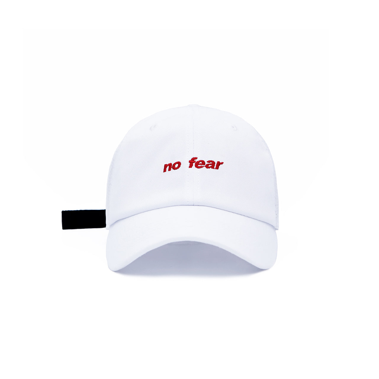 DVSN SMALL LOGO BALL CAP _  WHITE