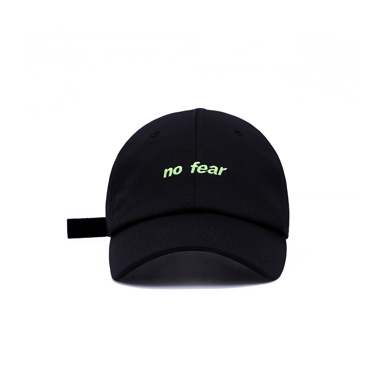 DVSN SMALL LOGO BALL CAP _  BLACK