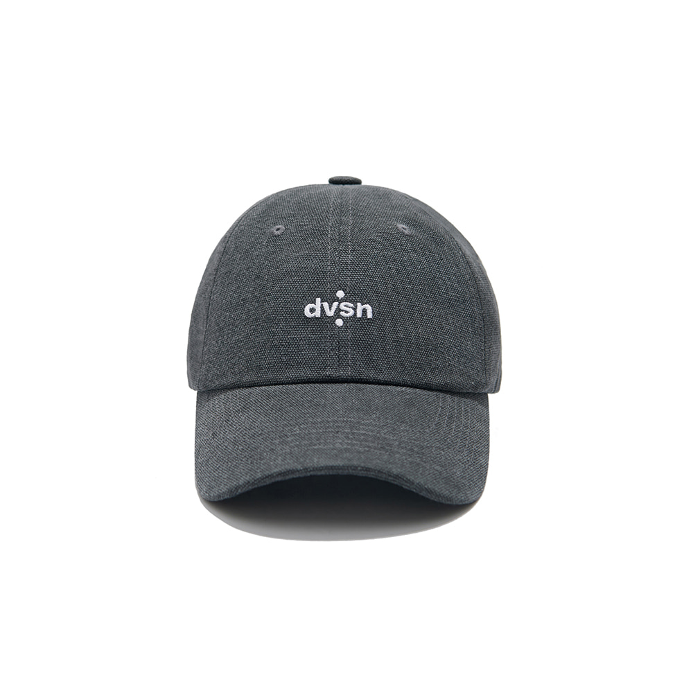 DVSN STUDIOS BASIC SMALL LOGO BALL CAP _  Charcoal