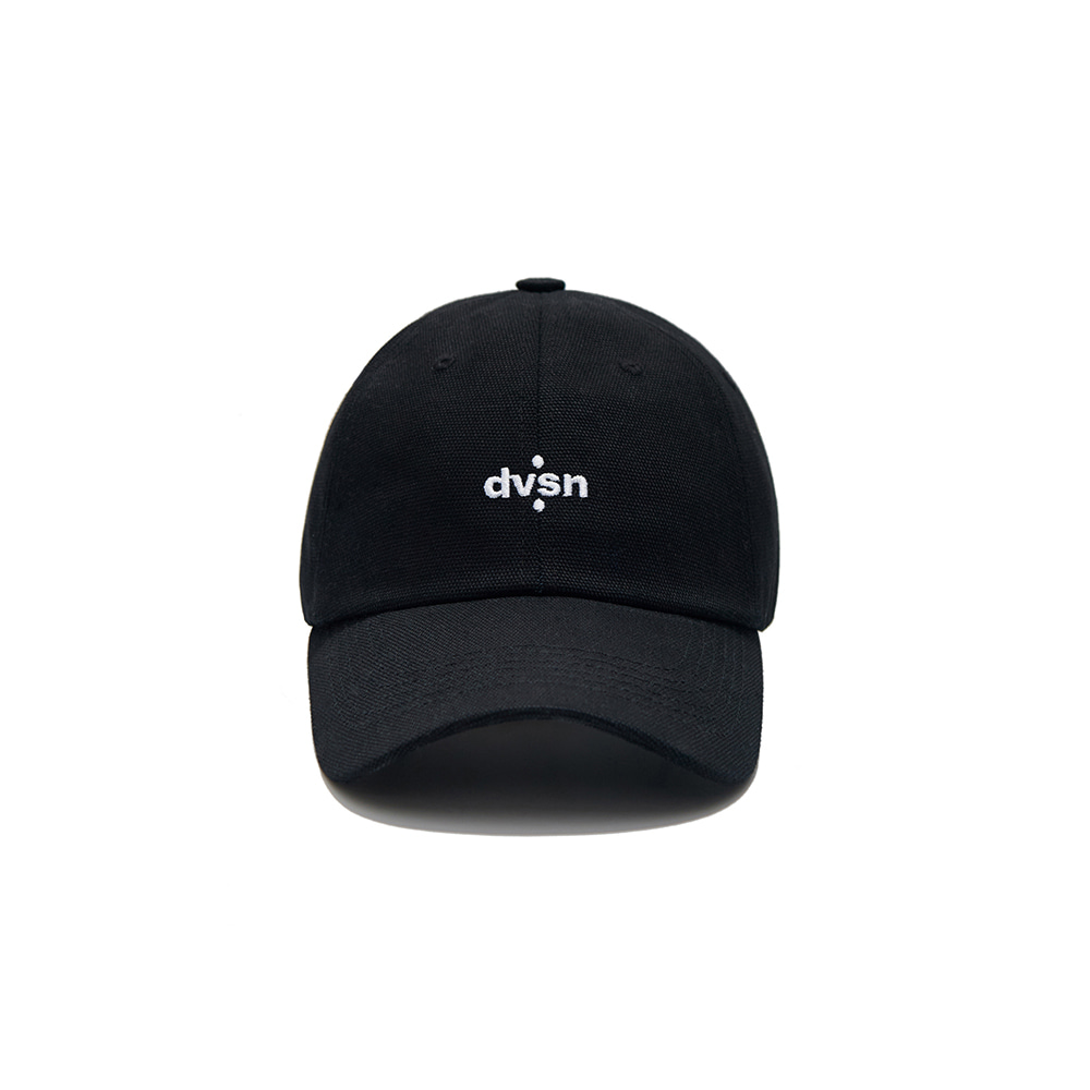 DVSN STUDIOS BASIC SMALL LOGO BALL CAP _  Black